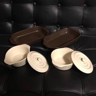 かな様専用    グラタン皿セット 蓋付皿 セット 食器セット