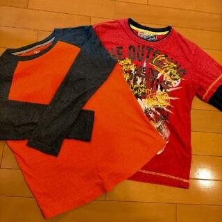 オールドネイビー(Old Navy)の即送付!OLDNAVY他♡男の子ロングTシャツ(Tシャツ/カットソー)