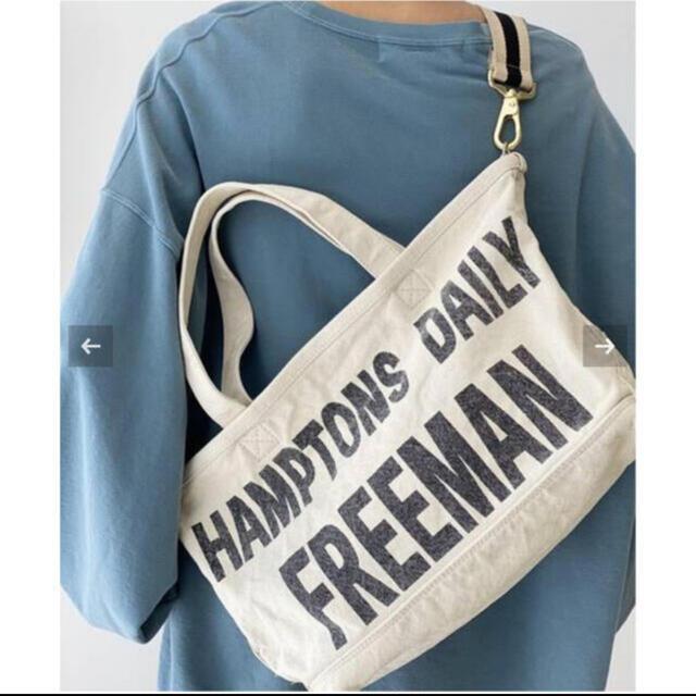 L'Appartement DEUXIEME CLASSE(アパルトモンドゥーズィエムクラス)のアパルトモン Graphic Tote Bag ナチュラル    レディースのバッグ(トートバッグ)の商品写真