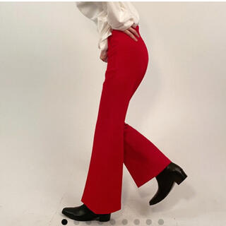 TODAYFUL - 【新品】nugu 22 赤 パンツ スラックス