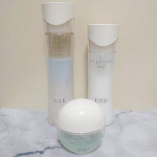 ELIXIR - エリクシール ルフレ 化粧水&乳液&みずクリームセット