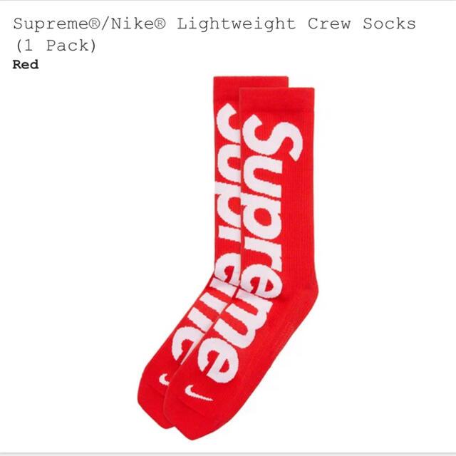 Supreme(シュプリーム)のシュプリーム supreme ソックス 靴下 24.0〜25.5cm レディースのレッグウェア(ソックス)の商品写真