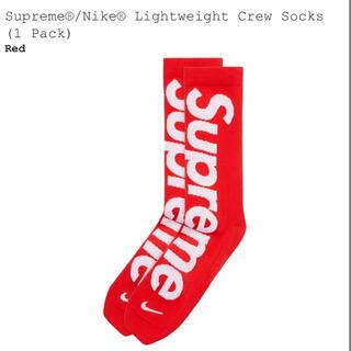 シュプリーム(Supreme)のSupreme NIKE Lightweight Crew Socks(その他)