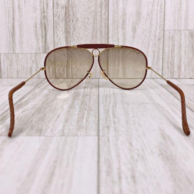 Ray-Ban(レイバン)のレイバン サングラス シューター ティアドロップ レザーコレクション ボシュロム レディースのファッション小物(サングラス/メガネ)の商品写真