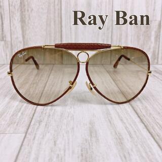 Ray-Ban - レイバン サングラス シューター ティアドロップ レザーコレクション ボシュロム