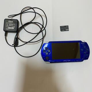 プレイステーションポータブル(PlayStation Portable)のPSP 1000本体+ソフト(携帯用ゲーム機本体)