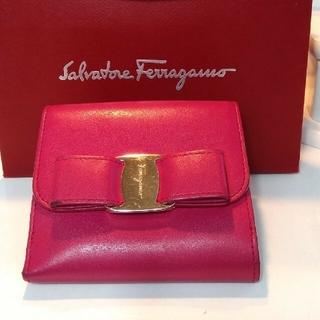 フェラガモ(Ferragamo)の正規フェラガモリボン折り財布(財布)