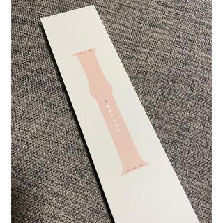 Apple Watch - 新品未開封 Apple Watch 純正 スポーツバンド 40mm ピンクサンド