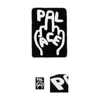 palace finger up rug black パレス ラグ マット