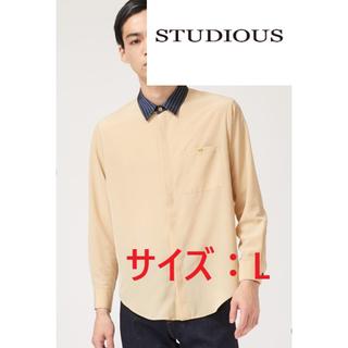 ステュディオス(STUDIOUS)のクレリックシャツ(STUDIOUS)(Tシャツ/カットソー(七分/長袖))