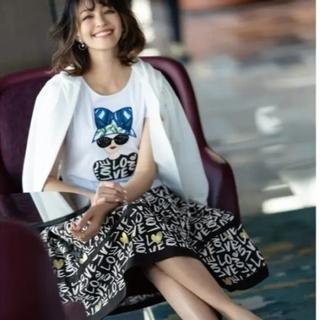 エムズグレイシー(M'S GRACY)の2021年 エムズグレイシー カタログ掲載色違いカットソー新品タグつき(Tシャツ(半袖/袖なし))
