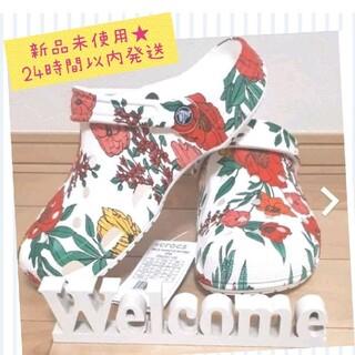 crocs - 週末値下げ!期間限定出品☆新品送料込★crocsサンダル 24㎝
