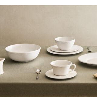 ザラホーム(ZARA HOME)の美品 ザラホーム レリーフ加工 プレート 食器 セット 10点(食器)