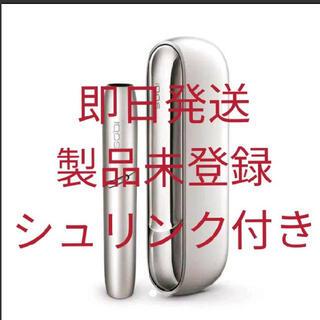 IQOS - 【新品未開封未登録品】iQOS 3DUOムーンシルバー