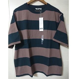 UNIQLO - UT ユニクロ ボーダービックTシャツ XL