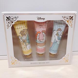 ディズニー(Disney)の【新品未使用】ディズニープリンセスハンドクリームセット(ハンドクリーム)