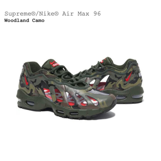 Supreme - Supreme Nike Air Max 96 Woodland Camo
