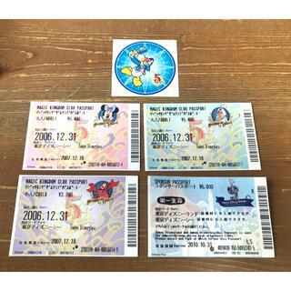 ディズニー(Disney)の【本日まで】Disney 使用済みチケット (遊園地/テーマパーク)
