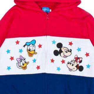 Disney - 1時間程度着用☆極美品 ディズニー パーカー  XL(LL)チームディズニー