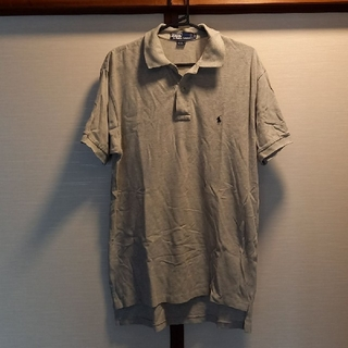 POLO RALPH LAUREN - お値引きPOLO Ralph Lauren綿鹿の子ポロシャツグレーM