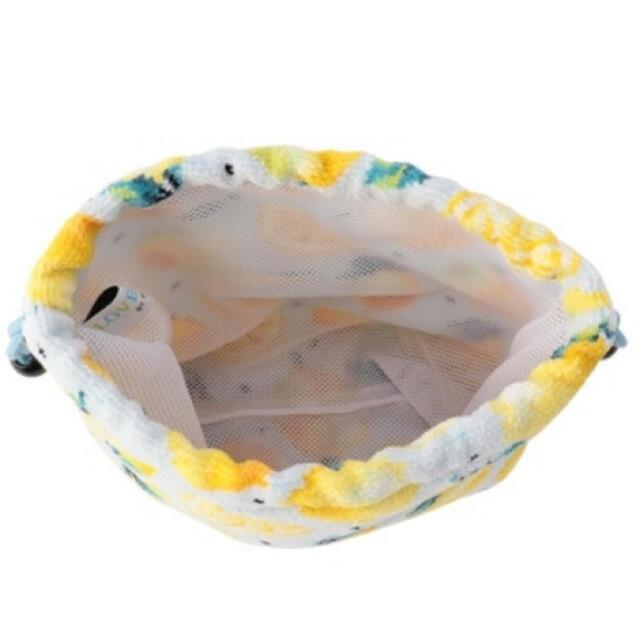 FEILER(フェイラー)のLOVERARY BY FEILER レモンドット マチ付き巾着(L)  レディースのファッション小物(ポーチ)の商品写真