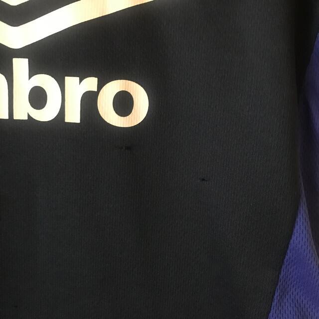 UMBRO(アンブロ)の【umbro】サッカーウェアsize120 キッズ/ベビー/マタニティのキッズ服男の子用(90cm~)(Tシャツ/カットソー)の商品写真