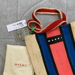 Marni - 【新品】完売品【MARNI MARKET】カナパトートバッグ ☆スモールサイズ