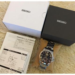 SEIKO - 【新品未使用】SEIKO セイコー キネティック メンズ 腕時計 ブルーダイアル