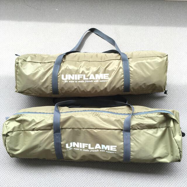UNIFLAME(ユニフレーム)のREVOタープ solo ウォールセット スポーツ/アウトドアのアウトドア(テント/タープ)の商品写真