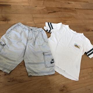 ナイキ(NIKE)のNIKE パンツとおまけのTシャツ(パンツ/スパッツ)