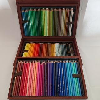 カランダッシュ  スプラカラーソフト 120色 木箱(色鉛筆)