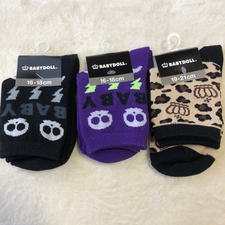 ベビードール(BABYDOLL)のBABY DOLL キッズ 靴下 2個セット(靴下/タイツ)