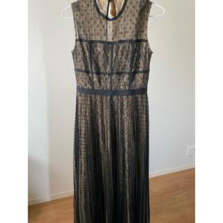 フレイアイディー(FRAY I.D)のフレイアイディー ドットチュール ロング ドレス(ロングドレス)