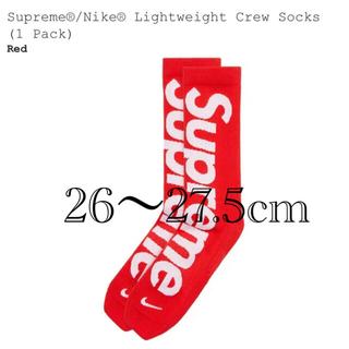 Supreme - Supreme × Nike シュプリーム ナイキ ソックス 26-27.5cm