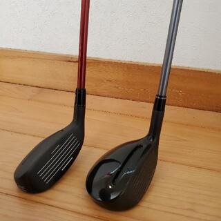 アダムスゴルフ(Adams Golf)のアダムスゴルフハイブリッド23度とV43番のセット(クラブ)