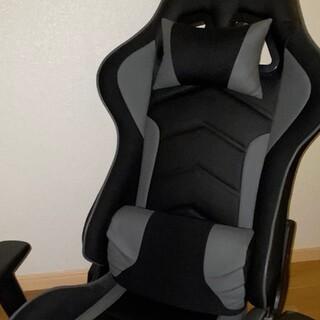 ゲーミングチェア 座椅子 黒(座椅子)