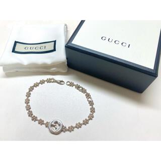 Gucci - GUCCI インターロッキングG シルバーブレスレット