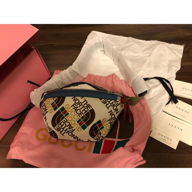 Gucci(グッチ)のグッチ ノースフェイス コラボバッグ gucci north face メンズのバッグ(ボディーバッグ)の商品写真