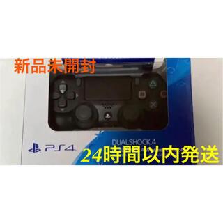 プレイステーション4(PlayStation4)のPS4ワイヤレスコントローラー DUALSHOCK4 新品未開封 純正 ブラック(その他)