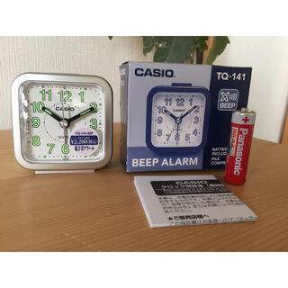 カシオ(CASIO)のCASIO(カシオ) 目覚まし時計 アナログ トラベルクロック TQ-141(置時計)