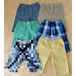 ニシマツヤ(西松屋)の《男の子130》ハーフパンツ 半ズボン 5枚セット(パンツ/スパッツ)
