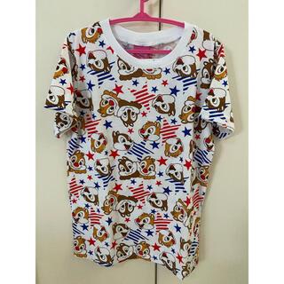 【キッズ】チップとデール スターTシャツ