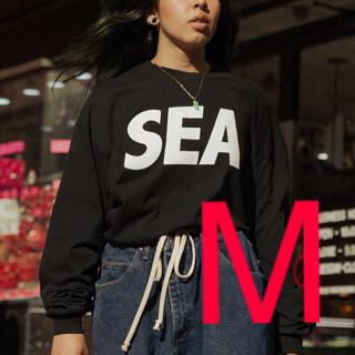 SEA - wind and sea 長袖Tシャツ ブラックM