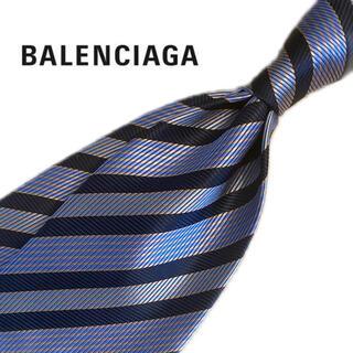 Balenciaga - 【超美品✨】バレンシアガ ネクタイ ストライプ【送料無料・即日発送】