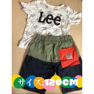 BREEZE - 120cm Lee キッズTシャツ +BREEZEショートパンツ