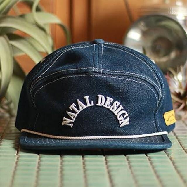 NATAL DESIGN(ネイタルデザイン)の【新品】ネイタルデザイン GOOD BOY CAP DENIM キャップ メンズの帽子(キャップ)の商品写真