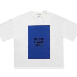 Jil Sander - Jil Sander ジルサンダー Tシャツ サイズL ブルー半袖 男女兼用