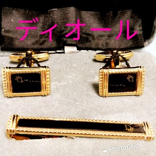 Christian Dior - ディオールネクタイピンカフスセット化粧箱付
