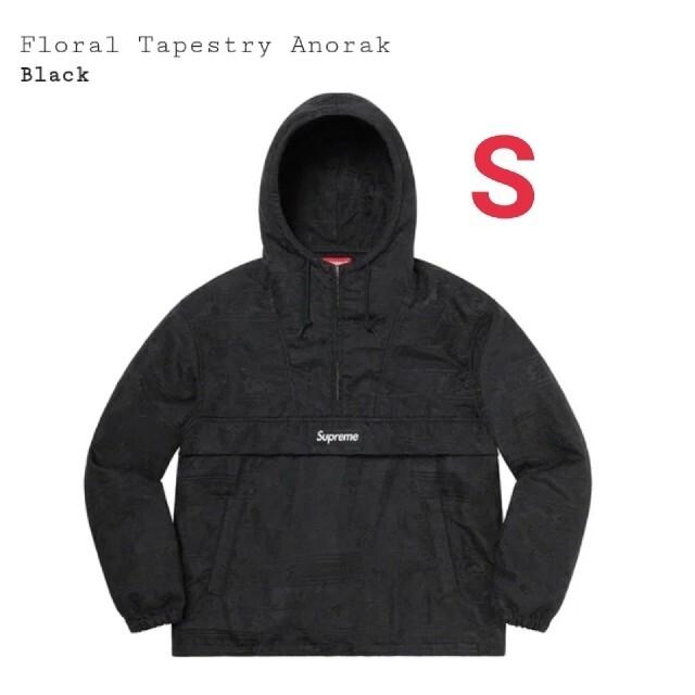 Supreme(シュプリーム)のSupreme®/Floral Tapestry Anorak  BLACK S メンズのジャケット/アウター(ナイロンジャケット)の商品写真