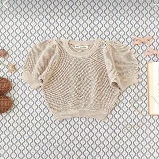 キャラメルベビー&チャイルド(Caramel baby&child )のsoor ploom mimi knit milk (ニット)